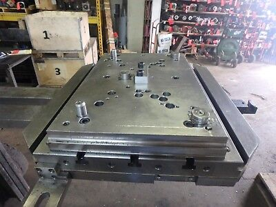 Mazak H630 Hmc Pallet Only_Drilled Tapped Top_Style #4_102444