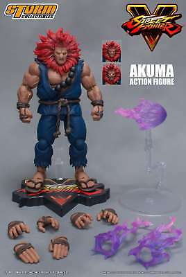 Storm Collectibles Street Fighter V Akuma (Gouki) 1:12 Scale Action Figure USA