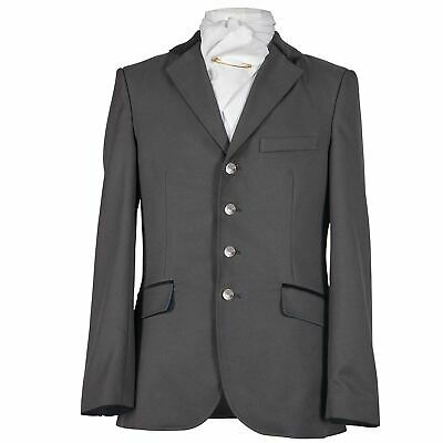 Shires Equestrian Men's Stanley Show Jacket with Contrast Satin Lining