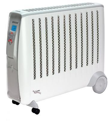 Dimplex CDE3ECC Cadiz Eco Electric Oil Free Radiator with Electronic Climate...