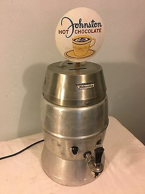1957 Johnston Hot Chocolate machine Helmco-Lacy