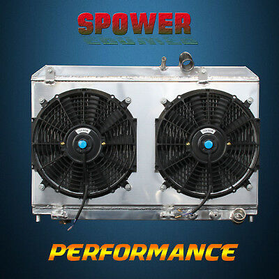 Aluminum Radiator+Fan Shroud For Mazda RX-8 GS GT Shinka Sport Touring R2 04-08