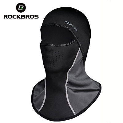 RockBros Winter Cycling Warm Fleece Scarf with Filter Hood Mask Multiple Styles