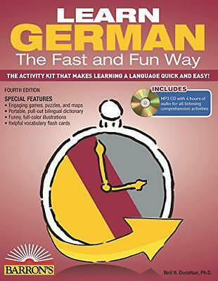 Learn German the Fast and Fun Way with MP3 CD by Donohue, Neil H. | Paperback Bo