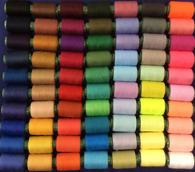 Hardy's Textile 100% Polyester 70 Colours 40s/2 Sewing Thread