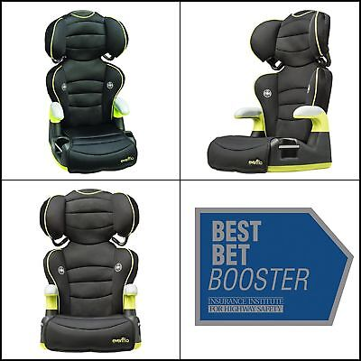 2-in-1 Big Kid High Back Booster Car Seat Travel Chair Toddler Safety Unisex NEW