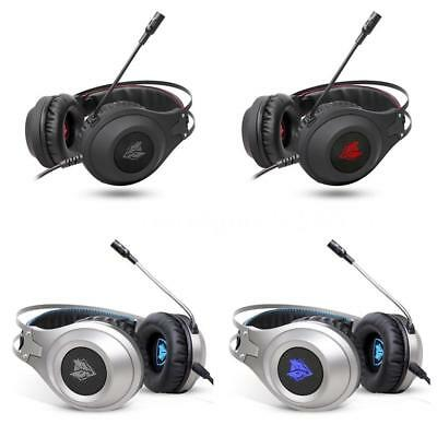 NUBWO N2 LED Gaming Headset Cuffie con microfono per PC PS3 PS4 XBOX Laptop A3D2