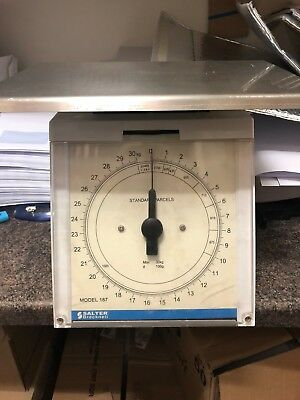 Salter Brecknell model number 187 - 30kg weighing scales