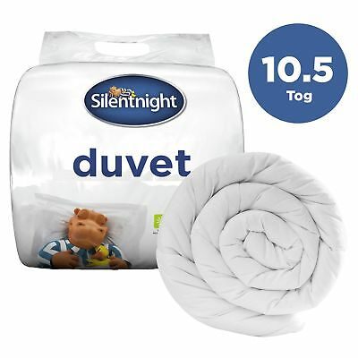Silentnight NQP 10.5 Tog Hollowfibre Duvet / Quilt - Single Double King or SK