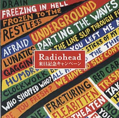 Hail To The Thief Radiohead Japanese handbill promo HANDBILL EMI 2003