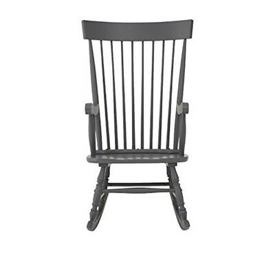 Brandon Premier Multi-coloured - Housewares Grey Solid Wood Rocking Chair