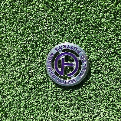 Scotty Cameron Tour Use Only Circle T Purple Ball Marker