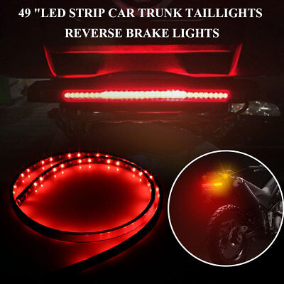 LED Strip Turn Signal Lamp Durable Universal Trunk Electric Tailgate Tail Light