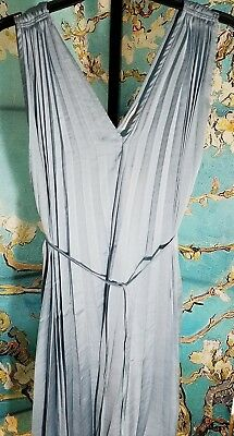 NWT Aglow Maternity Knife Pleated Dress, Size X Large, Retail $60.00
