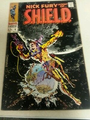 Nick Fury Agent of Shield #6 July 1968  Very Good condition Marvel