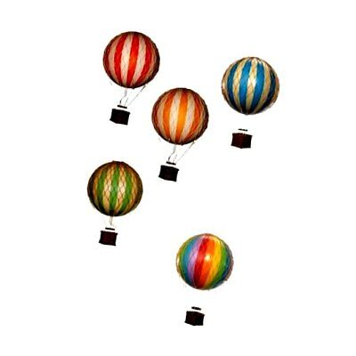 Hot Air Balloon Replica - Authentic Models Floating in the Air - Color: Tr..