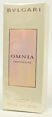 Omnia Crystalline by Bvlgari  Perfume 100ml Shower Oil  For Ladies  NEW & SEALED