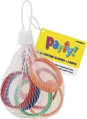 Unique Party 74010 - Lente di Ingrandimento In Plastica Regalini per Feste,...