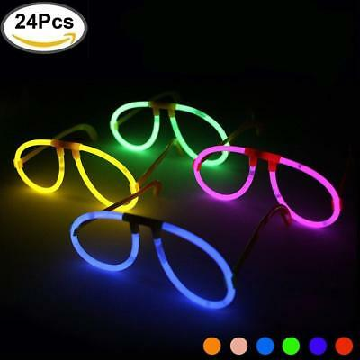 Kyc Glowsticks 24 lights-up occhialini at Night Glow stick Eyeglasses...