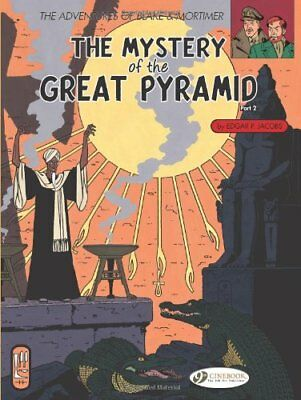 Blake and Mortimer: Mystery of the Great Pyramid Pt. 2-Edgar P. Jacobs