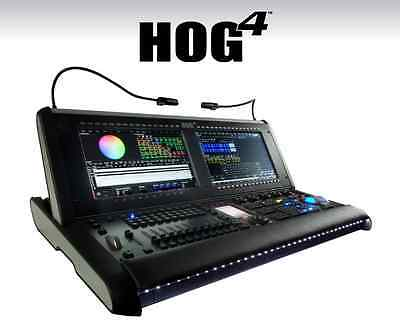 Hog 4 Control Console by High End Systems a Barco Company With Roadcase