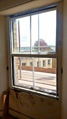 Reclaimed sash windows X 9 - two sets of matching sashes and boxes. A facade