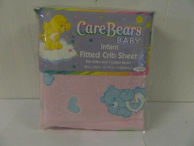 Care Bears Baby Baby Infant Fitted Crib Sheet NEW in PKG for Cribs & Toddler Bed