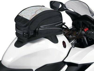 Nelson Rigg CL-2015-MG Journey Sport Motorcycle Magnetic Mount Tank Bags Black