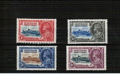 Bechuanaland Protectorate 1935 Silver Jubilee mounted mint set