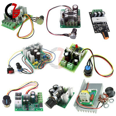 3/10/15/20A PWM 6-28V/10-60V/6-60V/12-40V/6-90V/12V Motor Speed Control Switch