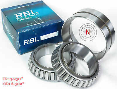 """Rbl Na56425Sw/56650D Tapered Double Roller Bearing, Id: 4.250"""", Od: 6.500"""""""
