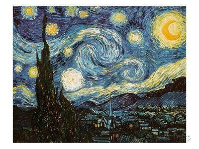 Starry Night, c.1889 Collections Giclee Poster Print by Vincent van Gogh, 40x...