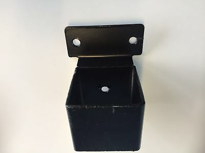 40mm*40mm  Black Powder Coated  Security Steel Fence Bracket ,$3.50/each
