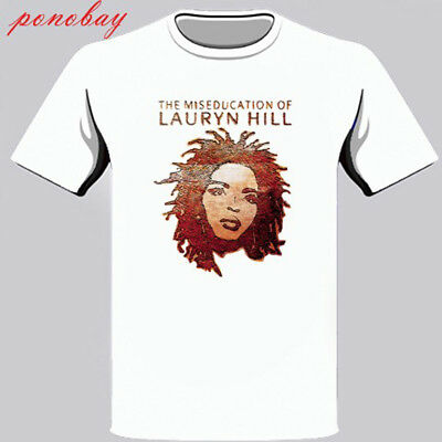 New The Miseducation Of Lauryn Hill Album Men's White T-Shirt Size S - 3XL