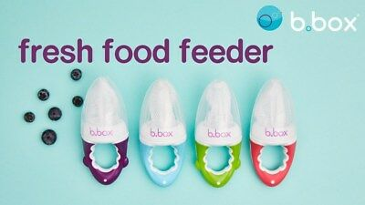 B.Box Fresh Food Feeder B.Box Mesh Feeder Baby Feeding Teether Four Colours bbox