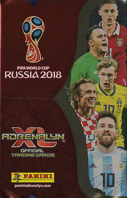 PANINI FIFA WORLD CUP RUSSIA 2018 Adrenalyn XL Auswahl (1 K=1€,weitere +0,50€)