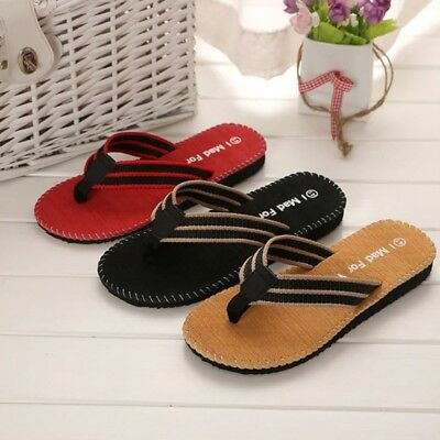 3f5a048d8601 Mens Flip Flops Fashion Slippers Beach Shoes Comfortable Thong Sandals  Casual