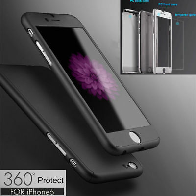 Luxury Ultra Slim Shockproof Hard Case Full Protective Cover for Apple iPhone