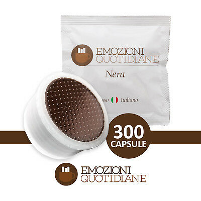 300 Capsule Lavazza Espresso Point Compatibili Caffe Emozioni Quotidiane Nera