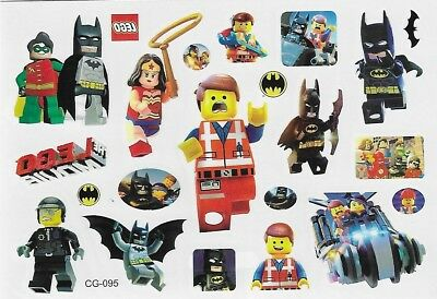 Lego Batman Einmal Tattoos Temporary Tattoo Wonder Woman Kinder Body Sticker 1