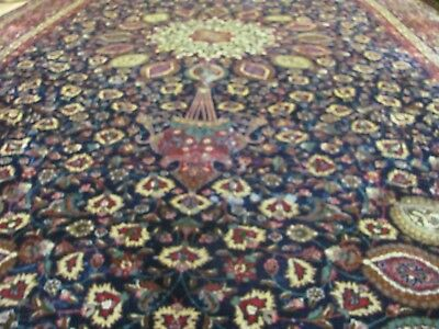 AN INCREDIBLE OLD HANDMADE TABRIZ AZERBAIJAN PERSIAN XL CARPET (496 x 303 cm)