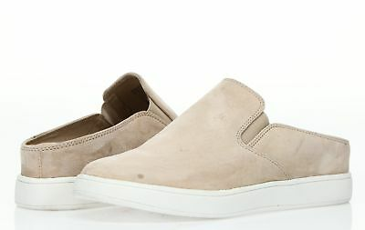 63410e1942b STEVE MADDEN WOMENS 'Ezekiel' Natural Suede Slip On Sneakers Sz 7.5 M -  232231