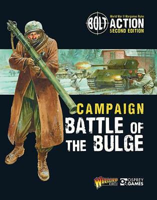 Bolt Action Campaign: Battle of the Bulge Soft Cover Warlord Games New!