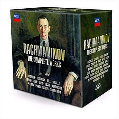 Rachmaninov: the Complete Works - Various Artist CD-JEWEL CASE Free Shipping!