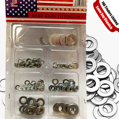 Flat Washers Set Metric Bolts Washers For Screws Bolt Stainless Steel Washers