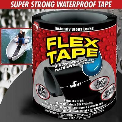 Flex Tape Patch Bond Super Strong Rubbrized Waterproof Seal Repair Tape UK SELL