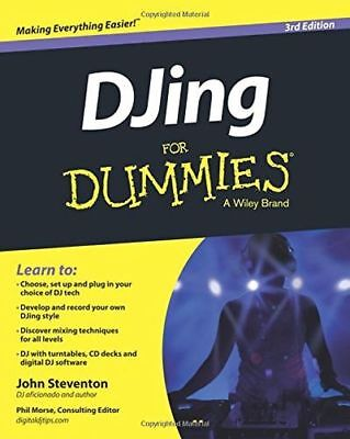 *NEW* - DJing For Dummies 3e (Paperback) - 1118937287