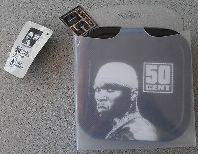 50 Cent Cd Metall Case Courtesy of Cousins Entertainment NYC von 2006