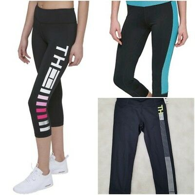 93cc0b24d0cbf NWT TOMMY HILFIGER SPORTS Women's Active Crop Leggings SELECT SIZE & PATTERN