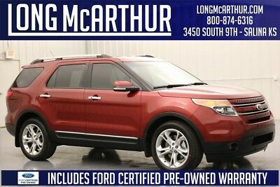 Ford Explorer Limited 2015 Limited Used Certified 3.5L V6 24V Premium Automatic FWD SUV